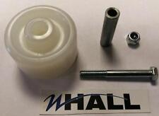 Rodillo de entrada de nylon 50mm de diámetro./rueda Kit para camión de bomba de mano/plataforma