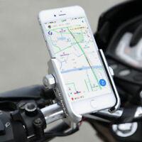 Aluminum Alloy Bike Bicycle Motorcycle Handlebar Mount 360 Degrees Phone Holder