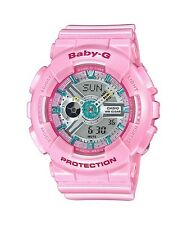 Casio Women's Baby-g Ba110ca-4a Pink Plastic Quartz Watch