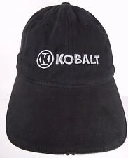 KOBALT TOOLS LOGO HAND TOOLS POWER TOOLS TOOL STORAGE BLACK ADVERTISING HAT CAP