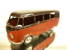MARKLIN VW VOLKSWAGEN T1 COMBI VAN - REDBROWN + BLACK 1:43 - GOOD CONDITION
