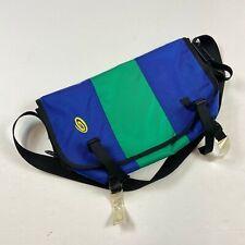 Timbuk2 Classic Messenger Shoulder Cycling Bag Green and Blue