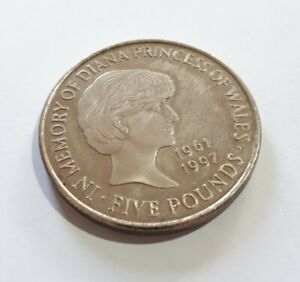1999 £5 Coin Princess Diana Memorial