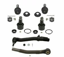 For Front Outer Tie Rod Ends & Lower & Upper Ball Joints KIT Moog For Ford 4WD