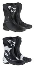 Alpinestars Motorcycle Motorbike SMX-S CE Approved Velcro/Zip Fastening Boots