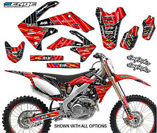 2005 2006 2007 CRF 450R GRAPHICS KIT CRF450R 450 R DECO DECALS STICKERS 05 06 0