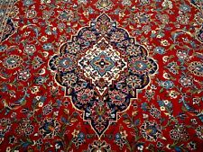 8X12 1960's BREATHTAKING MASTERPIECE MINT 200+KPSI KORK WOOL KASHAN PERSIAN RUG