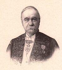 Portrait Colonel Aimé Laussedat Moulins Allier Astronomie Géodésie Topographie