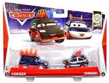 Disney Pixar Cars 2 Tuners 6 & 7 of 19 Yokoza & Chisaki Diecast Vehicle Set