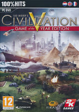 Civilization V - Game Of The Year Edition For PC (New & Sealed)