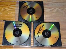 RADIOHEAD - 3 ADVANCE-DVD'S 2009 (AMNESIAC, KID A & HAIL TO THE THIEF)
