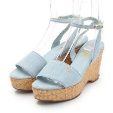CHANEL Denim Heels for Women