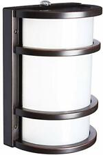 Feit Electric 73702 Dusk to Dawn LED Bronze Half Moon Security Light, Outdoor