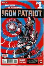 IRON PATRIOT #1 - First Print - NM Comic Book with Digital Code!