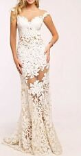 Jovani Jovani White Prom/wedding Dress Size 4