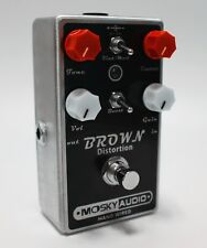 Mosky Audio BROWN Distortion Dual Toggle with Boost Option Hand-Wired New/Nice!