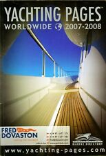 Yachting Pages Worldwide 2007-2008 Illustrated Directory with over 1200 pages