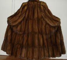 """J. Mendel 52"""" Long Russian Sable Fur Coat Size 14-16 Excellent Condition"""