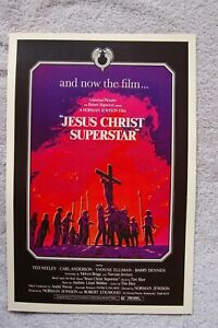 Jesus Christ Superstar Lobby Card Movie Poster Ted Neely Carl Anderson