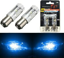 LED Light 30W 1157 Blue 10000K Two Bulbs Front Turn Signal Replace Show Use Lamp