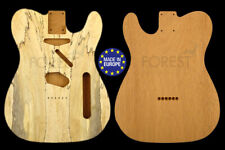 TELECASTER 50s Body guitar Honduras Mahogany / bookmatched spalted Maple top