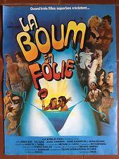 Affiche LA BOUM EN FOLIE The Beach Girls TOWNSEND Debra Blee 40x60cm