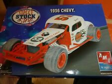 AMT 38621 1936 CHEVY COUPE MODIFIED SSS RACE 1:25 Model Car Mountain Nib kit