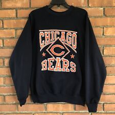 EUC Vintage CHICAGO BEARS Sweatshirt 80s Artex Made USA NFL WOMENS LARGE