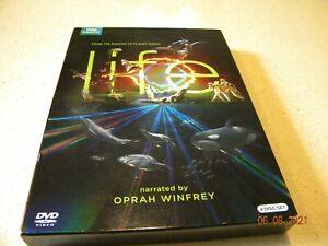 Life   (DVD, 2010, 4-Disc Set) NEW Sealed! BBC Earth - Narrated by Oprah Winfrey