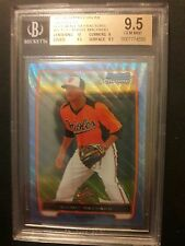 2012 Bowman Chrome Manny  Machado Blue Wave Refractor BGS 9.5 #bcp217