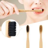 Bambuszahnbürste Holzgriff Khaki Weiche Borsten Für Erwachsene Oral Care H2X6
