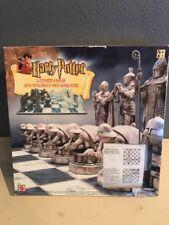 Harry Potter Wizard Chess Game Jeu D'Echecs Des Sorciers 2002 Mattel