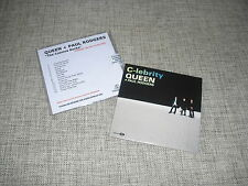 QUEEN + PAUL RODGERS - THE COSMOS ROCKS + C-LEBRITY - 2xCD PROMO DJ SET  RAINBOW
