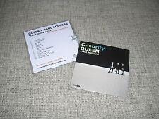 QUEEN + PAUL RODGERS - THE COSMOS ROCKS + C-LEBRITY - 2xCD PROMO DJ SET  RAINBOW