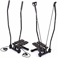 Hop-Sport Swing Stepper Handgriffe Trainingsbänder Computer Nordic Walking