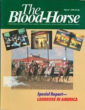 1992 The Blood-Horse Magazine #10: Ladbroke in America/Calder Sale
