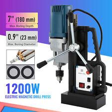 1200w Magnetic Drill Press 09in Boring Diameter 2900lbf Mag Drill
