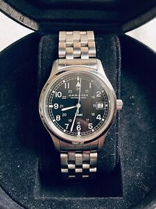 Hamilton Khaki Automatic 9721b Watch - Rare with Original Engineer Bracelet.
