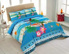 FINE QUALITY  PANEL PRINT DUVET COVER SET LATEST DESIGNS (All Sizes AVAILABLE)