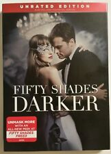 FIFTY SHADES DARKER (DVD, 2017, Unrated) *NEW w/Slipcover* SHIPS FAST Mon-Sat!