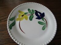 Blue Ridge Southern Pottery Hand Painted CARNIVAL   Bread & Butter Plate (s)