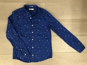 Abercrombie & Fitch Kids Blue Shirt Size XL (15/16 Years)