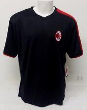 AC Milan Men's Jersey Size L Color Black NWT By Rhinox