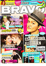 Bruno Mars clipping from Hungarian magazines