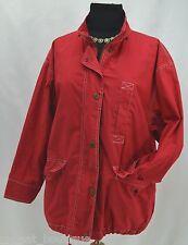 Liz Claiborne sailing jacket zip coat cotton original design windbreaker PS VTG