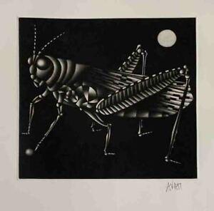 "MARIO AVATI ""NOAH'S ARK"" Original Etching Aquatint Signed by Artist"