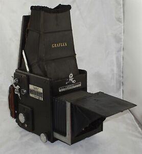 Graflex RB Super D 3 1/4 x 4 1/4 Camera w/ Ektar 152mm f4.5 Lens