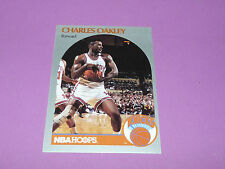 207 CHARLES OAKLEY NEW YORK KNICKS 1990 NBA HOOPS BASKETBALL CARD