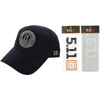 5.11 CAP + DECAL STICKER SPECIAL GIFT BUNDLE - 511 TACTICAL AUTHENTIC