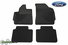 2001-2010 Ford Escape Floor Mats Rubber All Weather Set OEM NEW 5L8Z-7813300-D